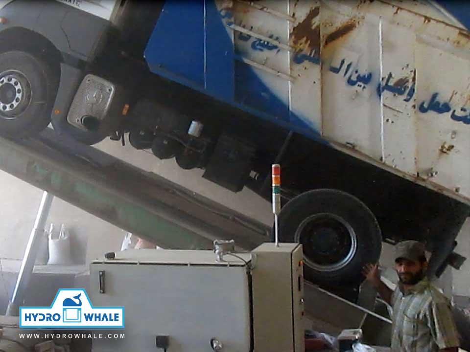 تست - پروژه جک تخلیه کامیون - هیدروال