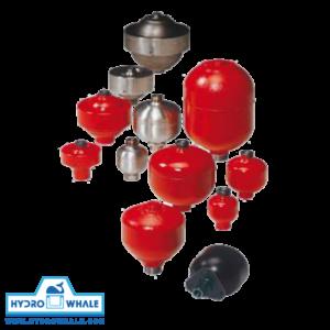 فروش آکومولاتورهای دیافراگمی هیداک - فروشگاه هیدروال