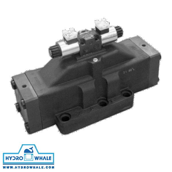 شیر هیدرولیک کنترل جهت دوپلوماتیک- DSP10-فروشگاه هیدروال