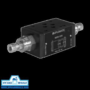 شیر هیدرولیک کنترل جریان دوپلوماتیک- MERS-فروشگاه هیدروال