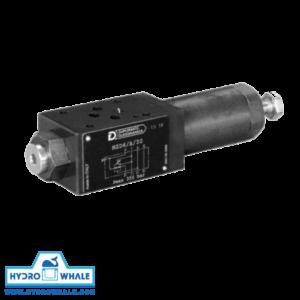 شیر هیدرولیک کنترل فشار دوپلوماتیک - MZD- فروشگاه هیدروال