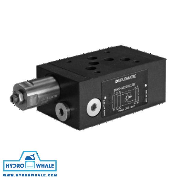 شیر هیدرولیک کنترل فشار دوپلوماتیک- PRM5-فروشگاه هیدروال