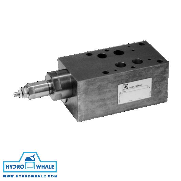 شیر هیدرولیک کنترل فشار دوپلوماتیک- PRM7-فروشگاه هیدروال