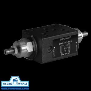 شیر هیدرولیک کنترل جریان دوپلوماتیک- QTM5-فروشگاه هیدروال