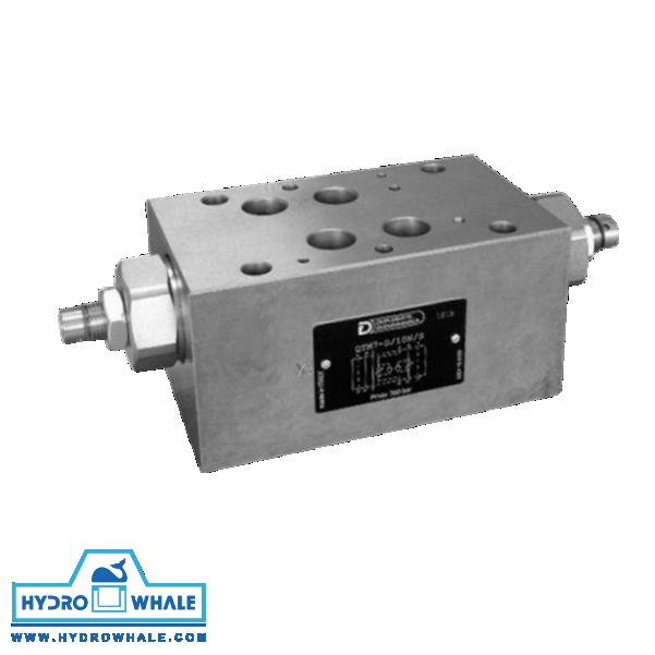 شیر هیدرولیک کنترل جریان دوپلوماتیک- QTM7-فروشگاه هیدروال