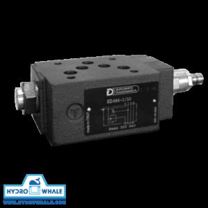 شیر هیدرولیک کنترل فشار دوپلوماتیک- SD4M-فروشگاه هیدروال