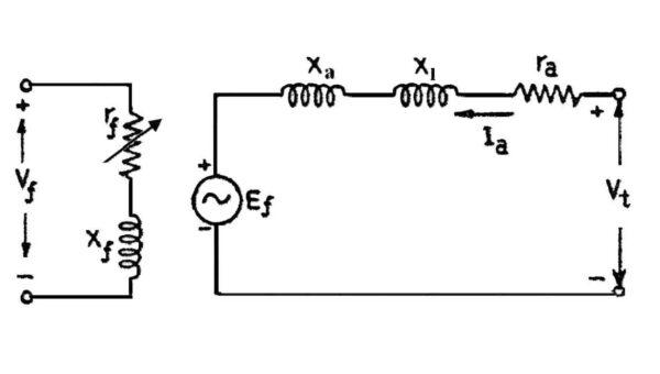 مدار موتور تکفاز